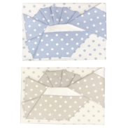 F2 FLANEL CRADLE SHEET+FITTED +PILLOW CASE 100% COTTON 110x80-80x130-37x28 cm