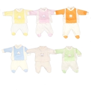 D03 EMBROIDERED BABY ROMPER SUMMER CHENILLE 100% COTTON UNDER AND BACK OPEN BY BUTTONS