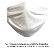 PROTECTION MASK WASH AND REUSE - STERILIZABLE WITH ELASTIC