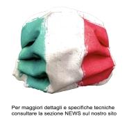 MASCHERINA DI PROTEZIONE ITALY BABY 2-10 ANNI- LAVABILE A 95\' STERILIZZABILE 125\'+ ELASTICO