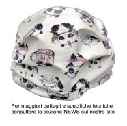 MASCHERINA PROTEZIONE UNICORNO BABY 2-10 ANNI- LAVABILE A 95\' STERILIZZABILE 125\'+ ELASTICO