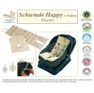 BACKREST  Happy  BABY CAPSULE + CASE