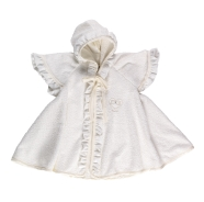 R31 MANTLE BATHROBE CHENILLE 100% COTTON SiZE 1/3 YEARS
