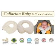 FODERA COLLARINO BABY TG. 0-18 MESI LINEA BIO