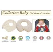 FODERA COLLARINO BABY TG. 18-36 MESI LINEA BIO