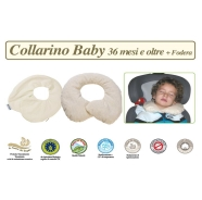 FODERA COLLARINO BABY TG. OLTRE 36  MESI LINEA BIO