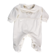 R31 EMBROIDY BABY ROMPER CHENILLE 100% COTTON
